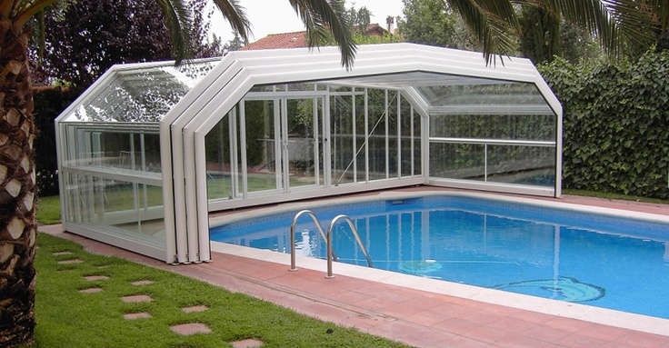 Beautiful And Classy Pool Enclosures
